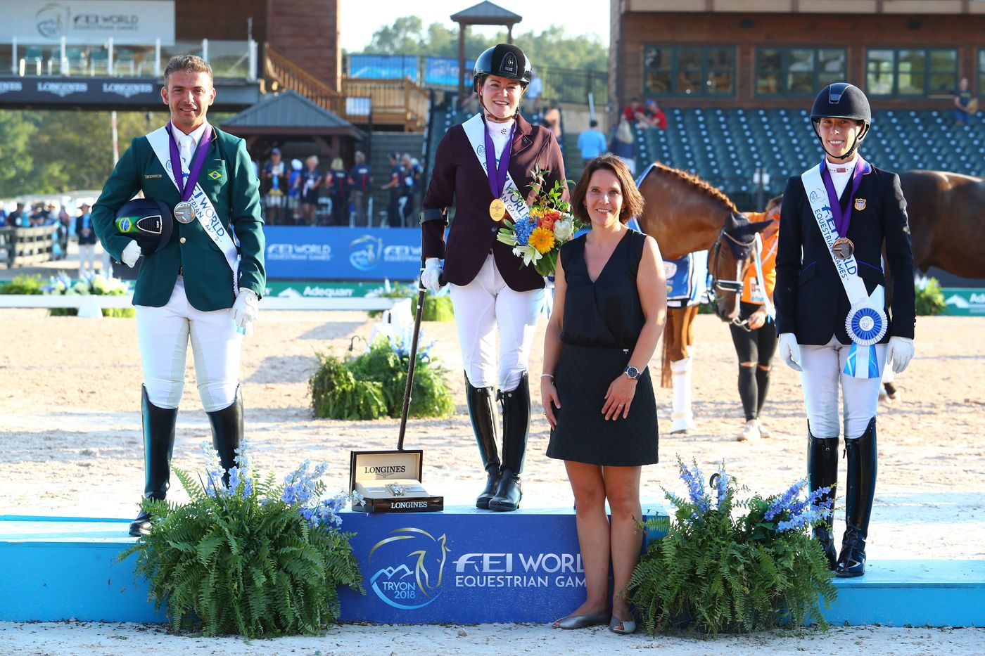 Longines Show Jumping Event: The FEI World Equestrian Games ended beautifully with Germany topping the medal table   6