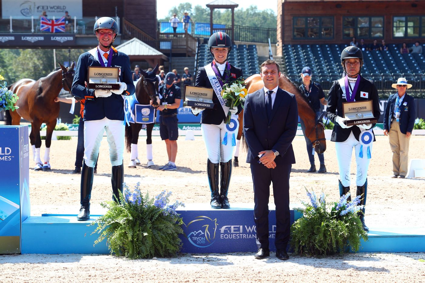 Longines Show Jumping Event: The FEI World Equestrian Games ended beautifully with Germany topping the medal table   5