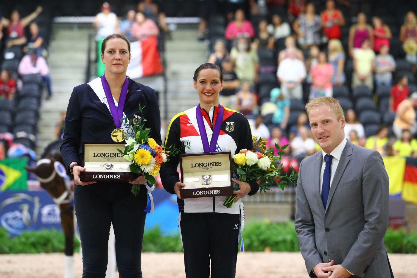 Longines Show Jumping Event: The FEI World Equestrian Games ended beautifully with Germany topping the medal table   4