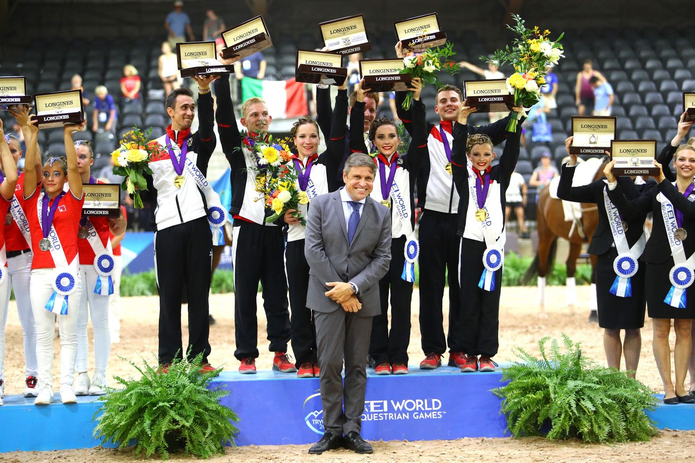 Longines Show Jumping Event: The FEI World Equestrian Games ended beautifully with Germany topping the medal table   10
