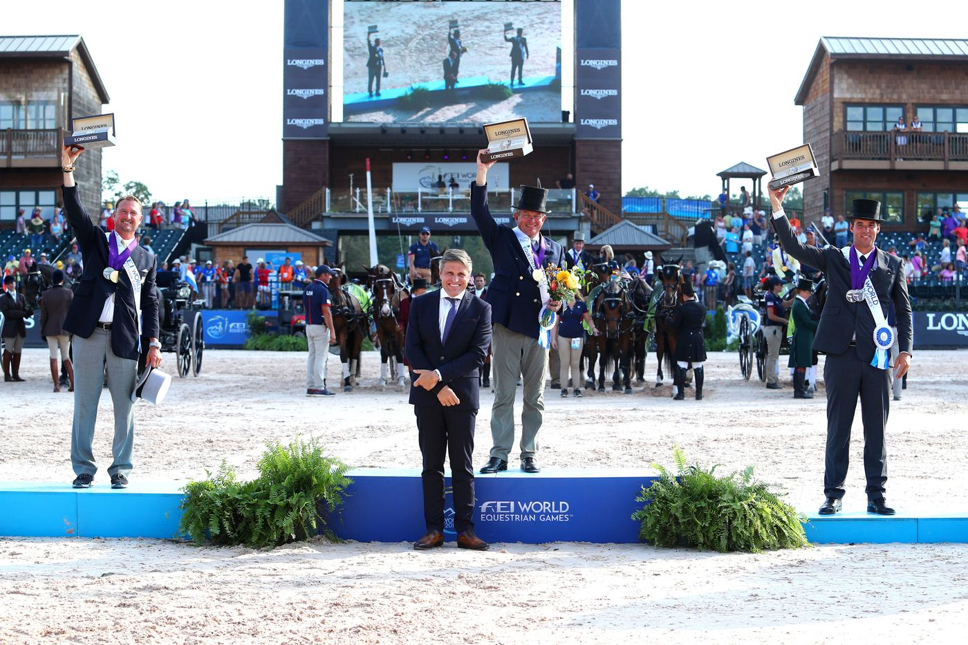 Longines Show Jumping Event: The FEI World Equestrian Games ended beautifully with Germany topping the medal table   1