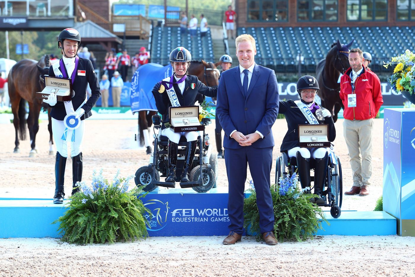 Longines Show Jumping Event: The FEI World Equestrian Games ended beautifully with Germany topping the medal table   17