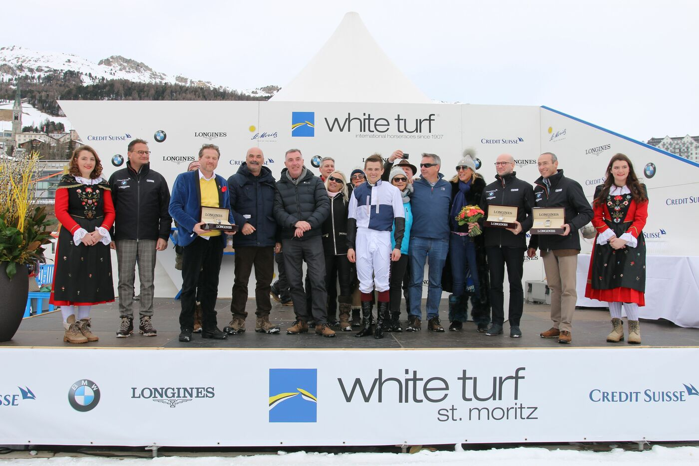 Longines Flat Racing Event: Three Sundays of exciting competitions and exceptional performances concluded by the Longines 81st Grosser Preis von St. Moritz 2