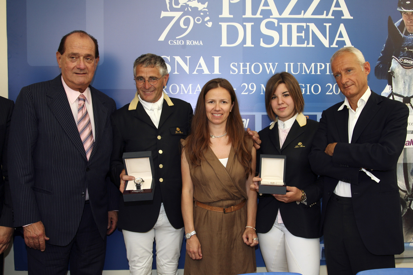 Longines Show Jumping Event: Longines and the 79th CSIO Piazza di Siena (Italy) : Elegance and precision in Rome among celebrities and horse-goers 2