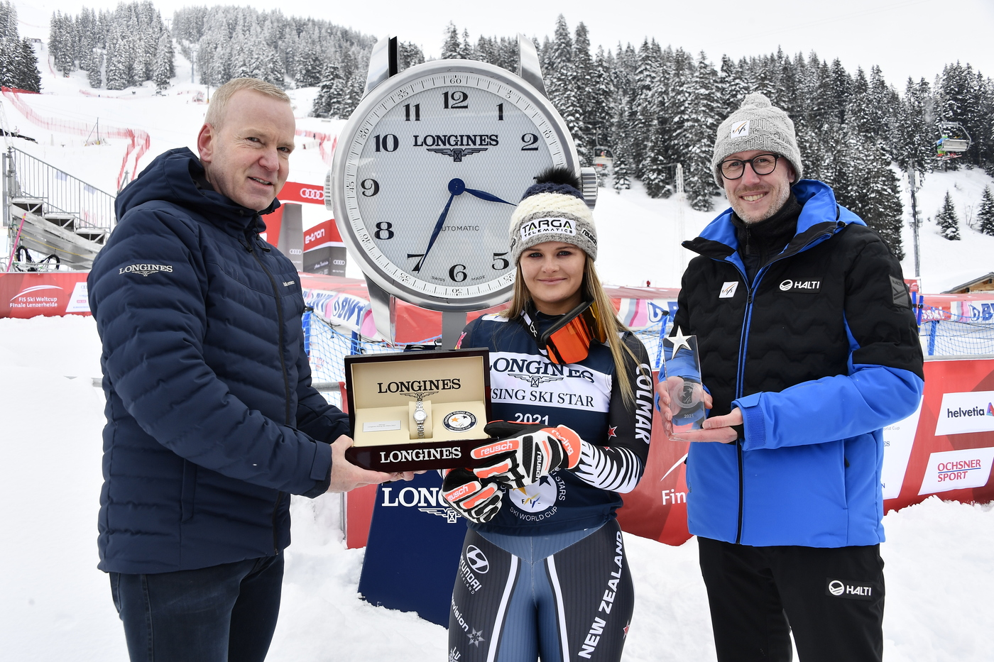Longines Alpine Skiing Event: Lenzerheide marks the end of a prolific season for Longines' athletes 3
