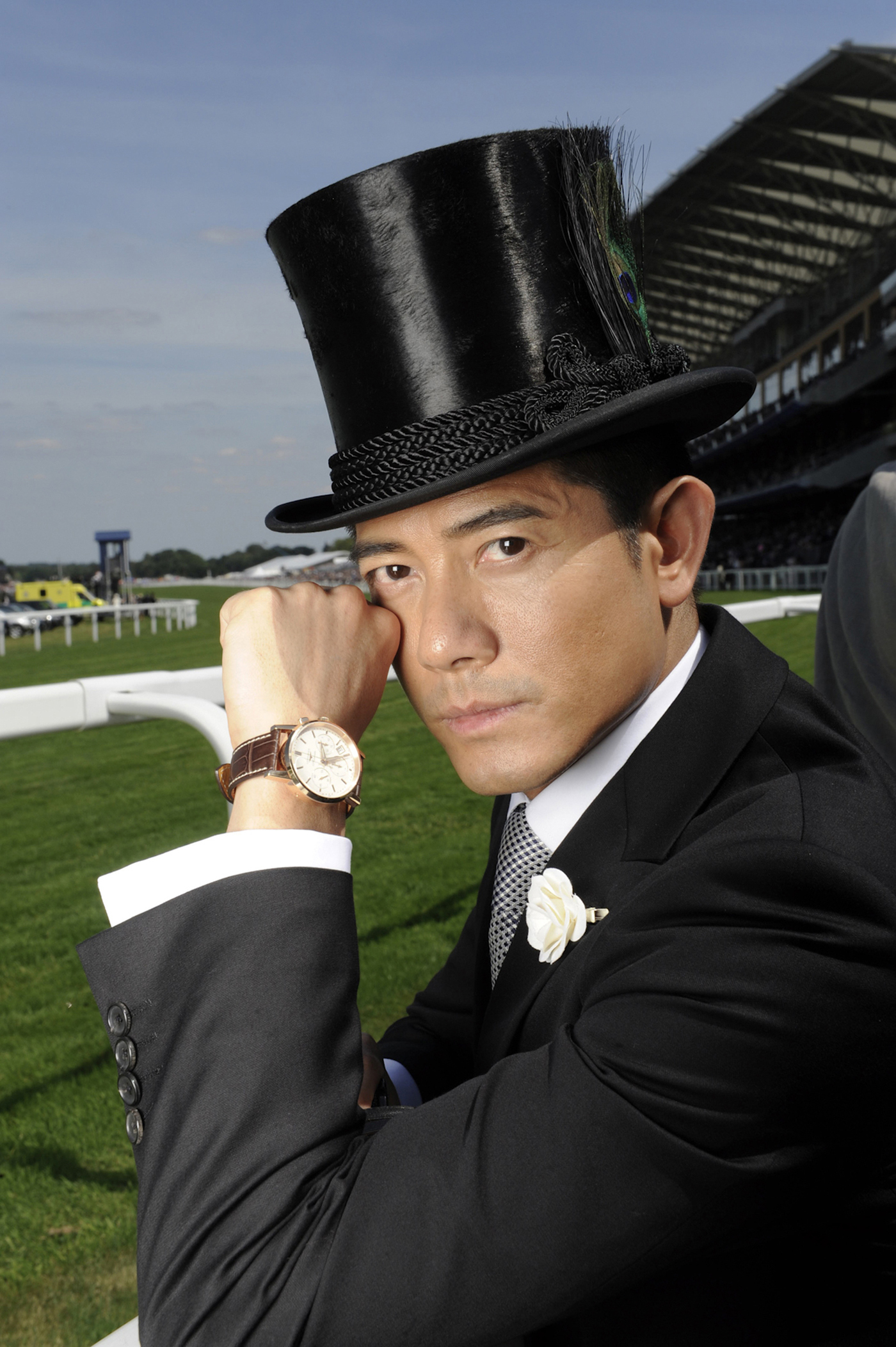 Longines Flat Racing Event: A day of glamour at Ascot with Aaron Kwok, Longines ambassador of Elegance 4