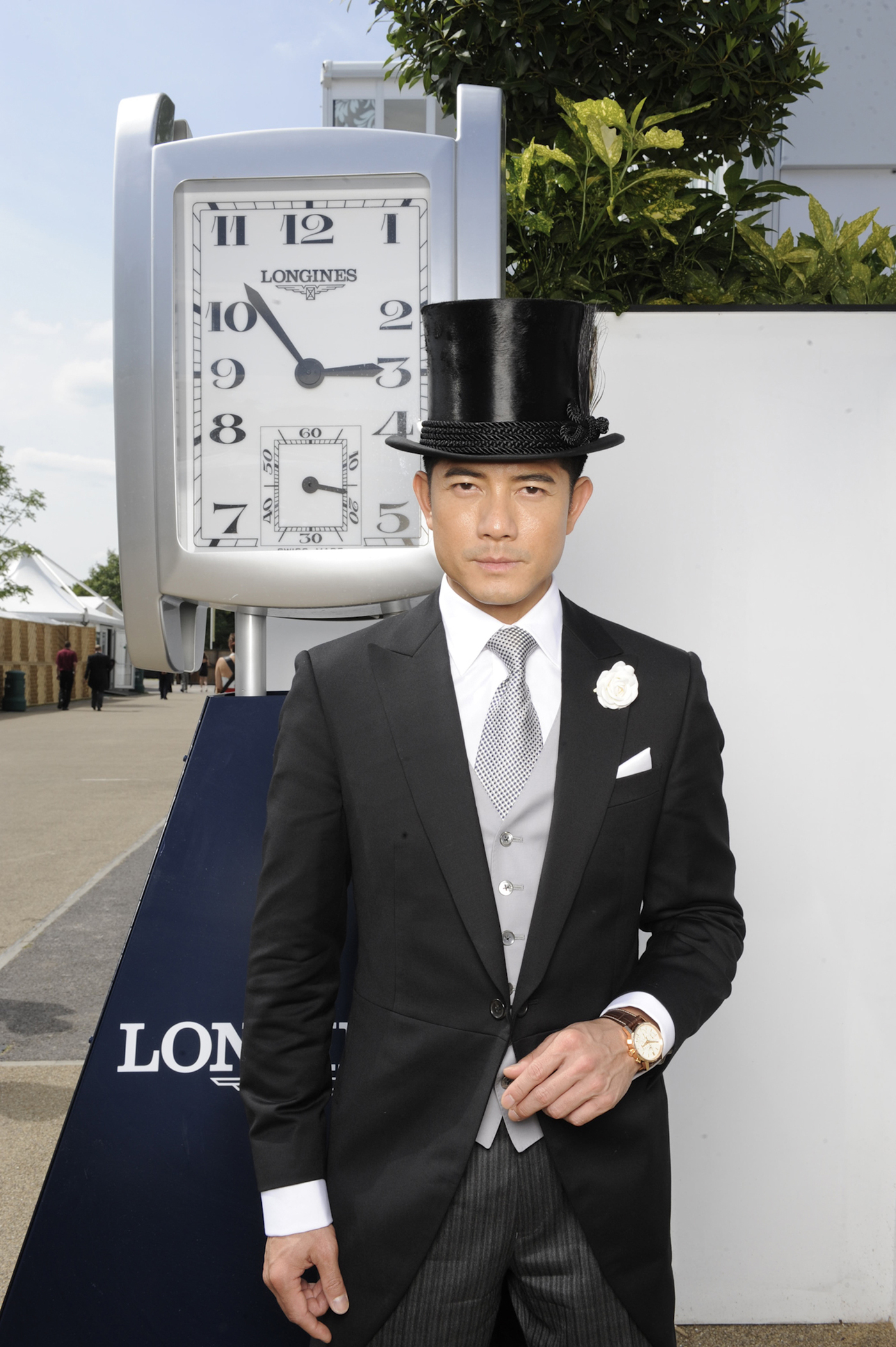 Longines Flat Racing Event: A day of glamour at Ascot with Aaron Kwok, Longines ambassador of Elegance 6