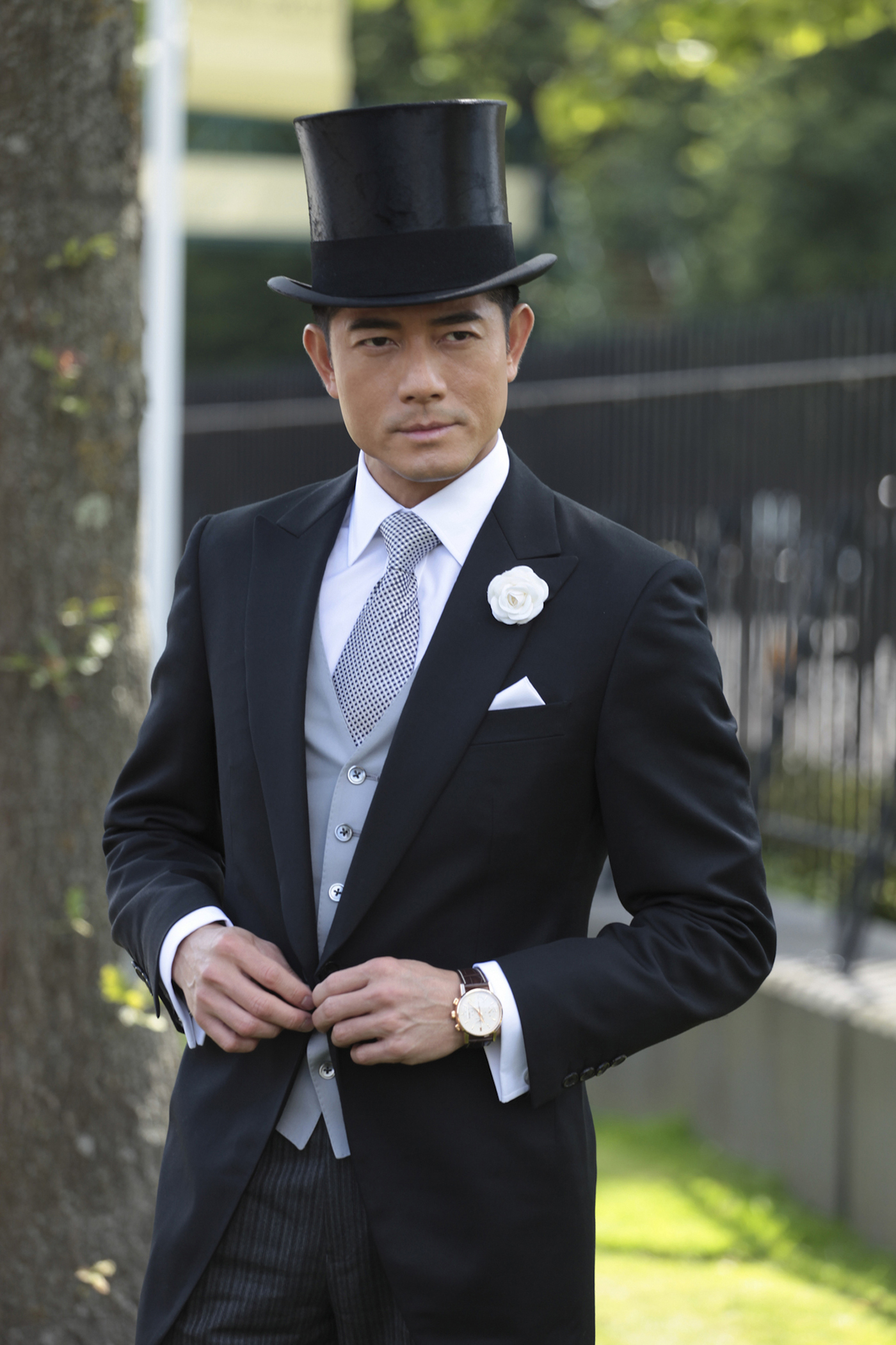 Longines Flat Racing Event: A day of glamour at Ascot with Aaron Kwok, Longines ambassador of Elegance 7