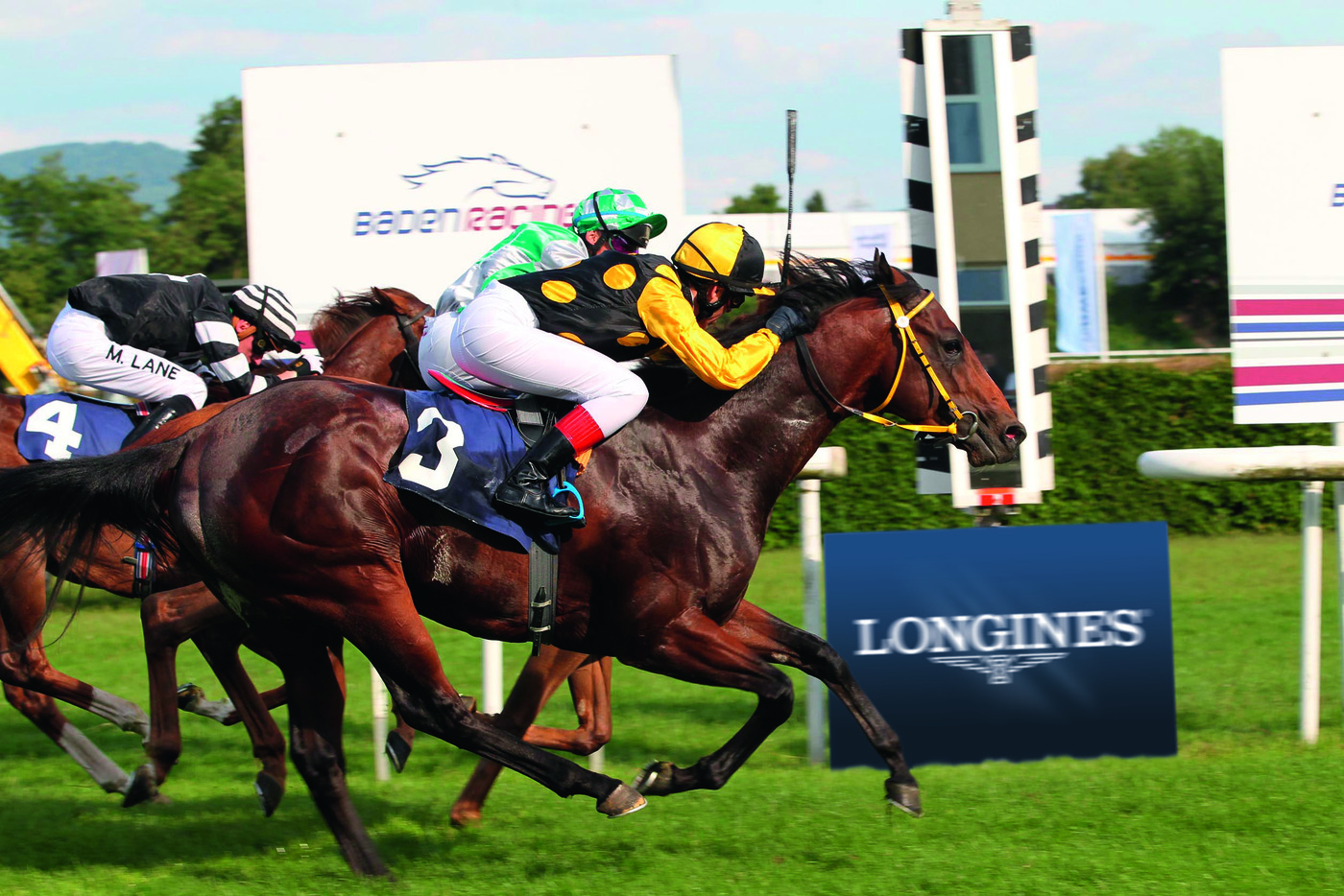 Longines Flat Racing Event: Longines: new title sponsor of the Grosser Preis von Baden 1