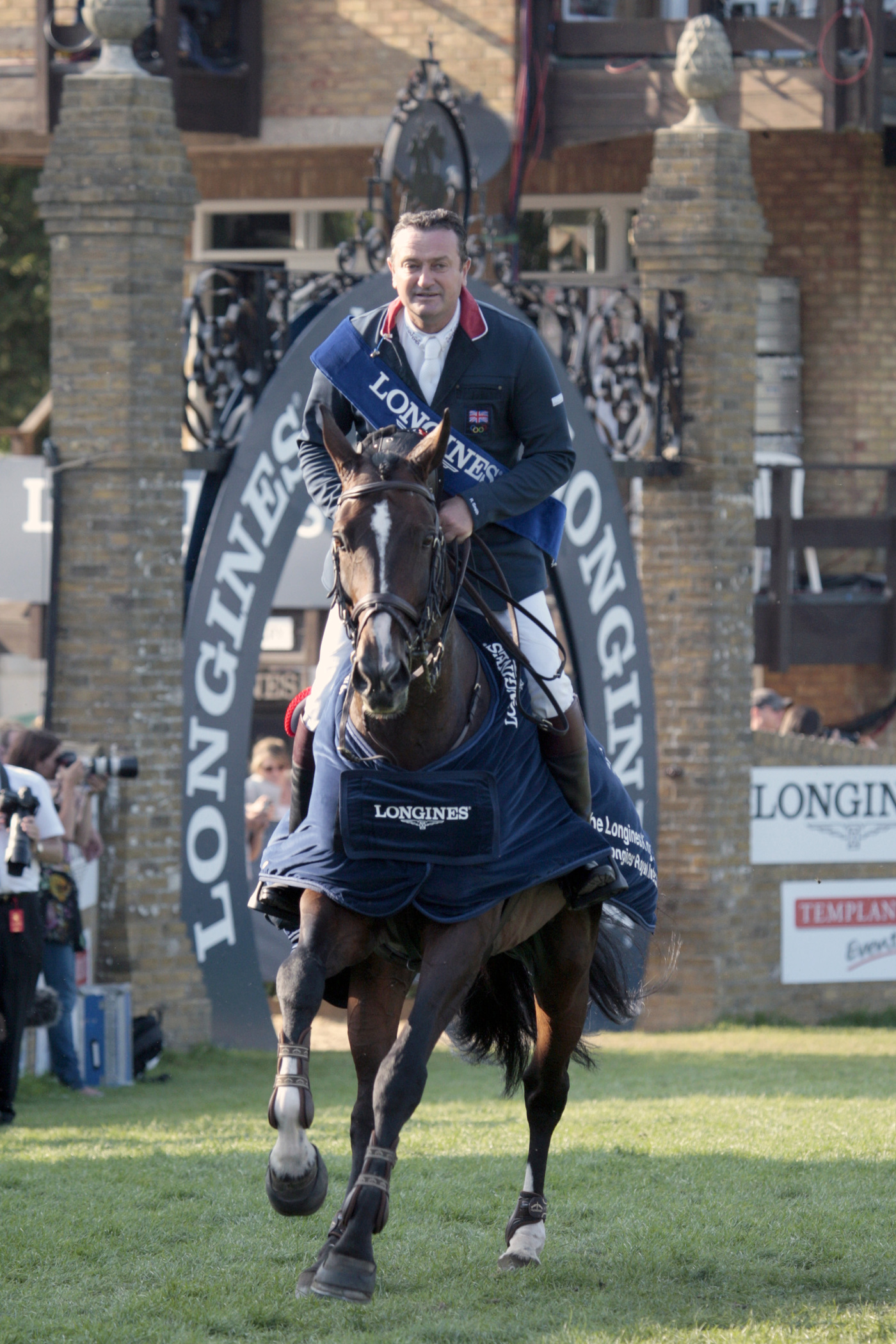 Longines Show Jumping Event: The Longines Royal International Horse Show in Hickstead 2