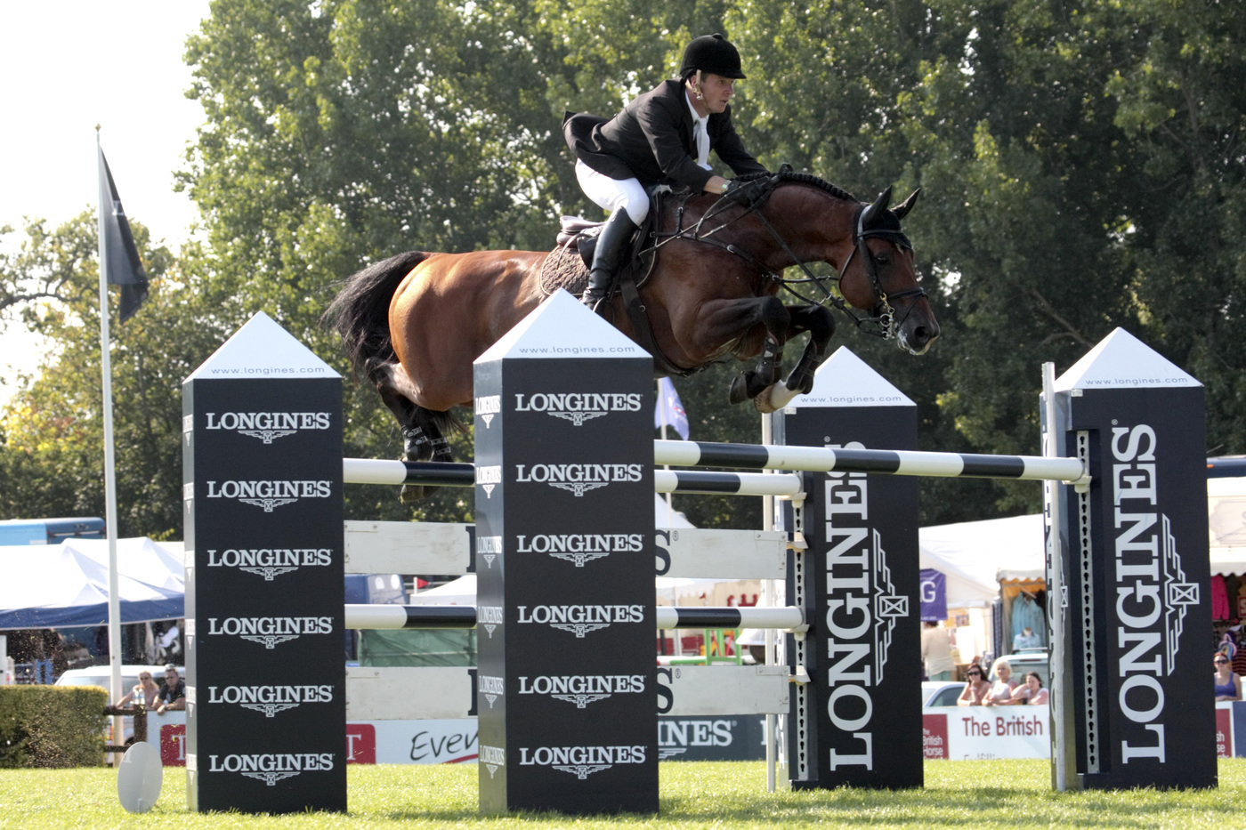 Longines Show Jumping Event: The Longines Royal International Horse Show in Hickstead 3