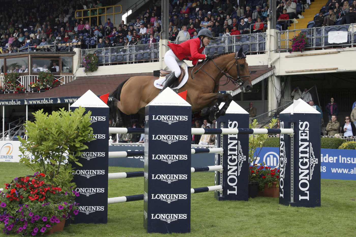 Longines Show Jumping Event: The Dublin Horse Show, where Longines was the official partner and timekeeper, lived up to the expectations last weekend 1