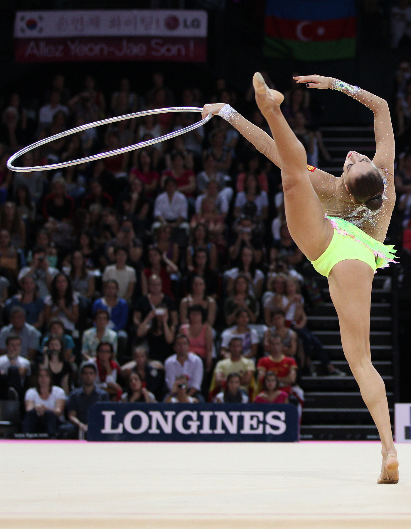 Longines Gymnastics Event: Rhythmic Gymnastics World Championships 2011 4