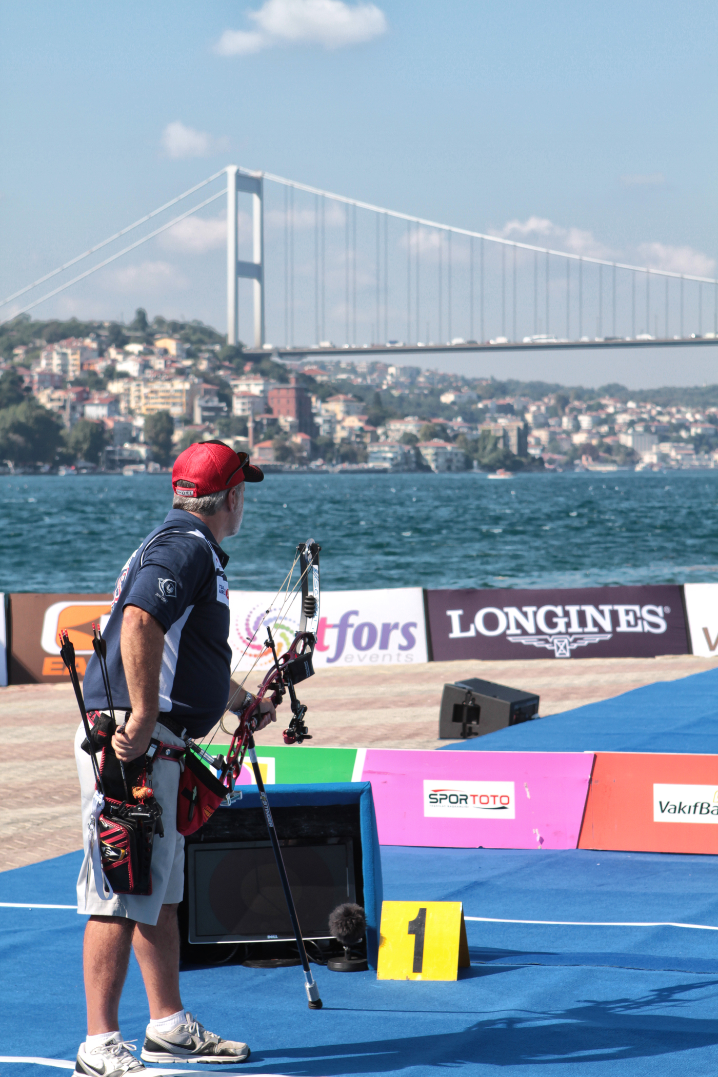 Longines Archery Event: The winners of the 2011 Longines Prize for Precision for archery 2