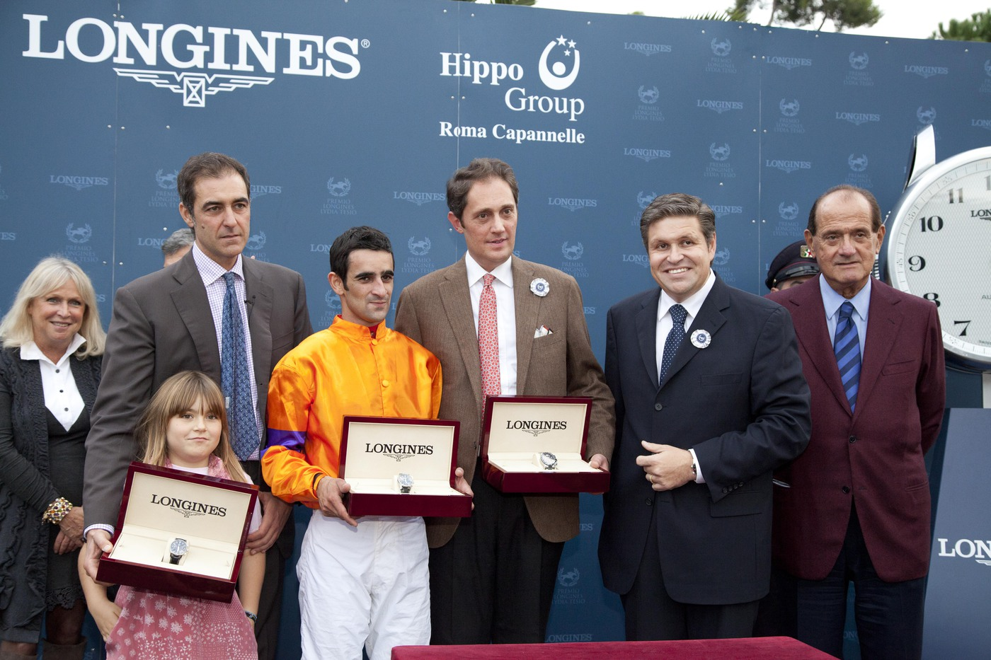 Longines Flat Racing Event: Fabio Branca wins the Grand Prix Longines Lydia Tesio on Quiza Quiza Quiza 4