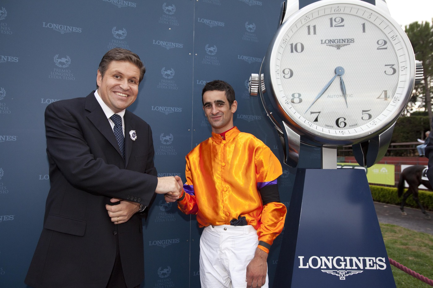 Longines Flat Racing Event: Fabio Branca wins the Grand Prix Longines Lydia Tesio on Quiza Quiza Quiza 5