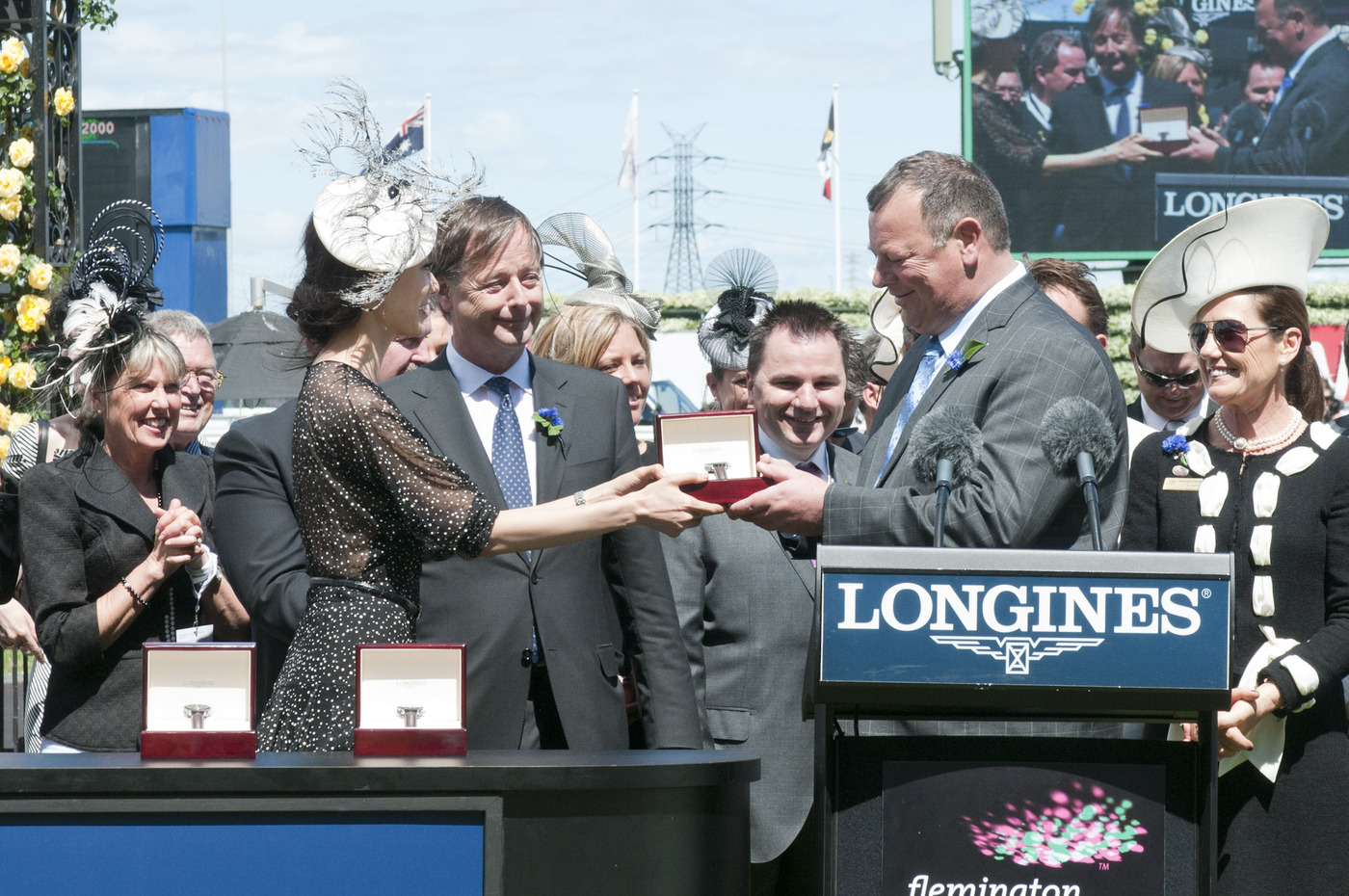 Longines Flat Racing Event: Elegance reigns at Derby Day as part of 2011 Melbourne Cup Carnival 2