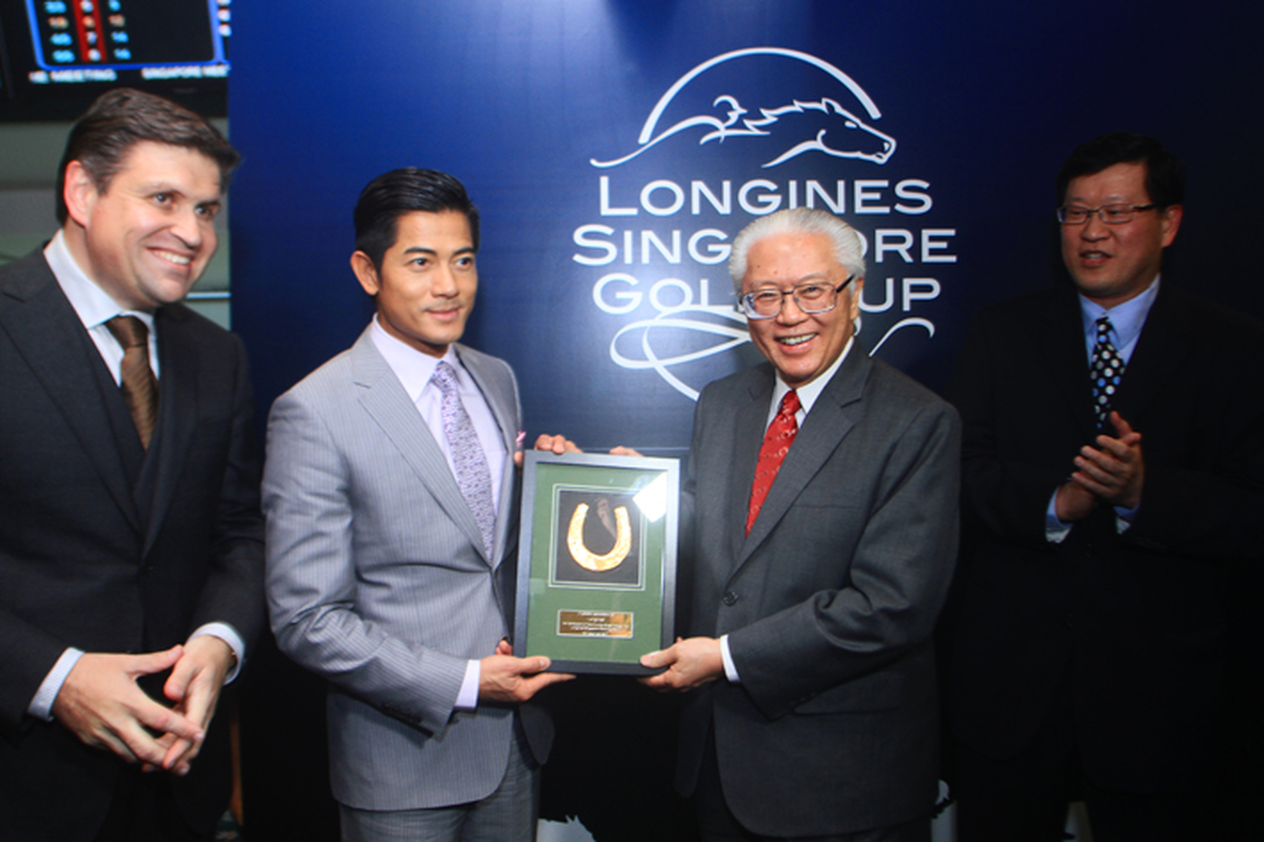 Longines Flat Racing Event: LONGINES SINGAPORE GOLD CUP 2011 raises S$241,136 for the Chaoyang School 12
