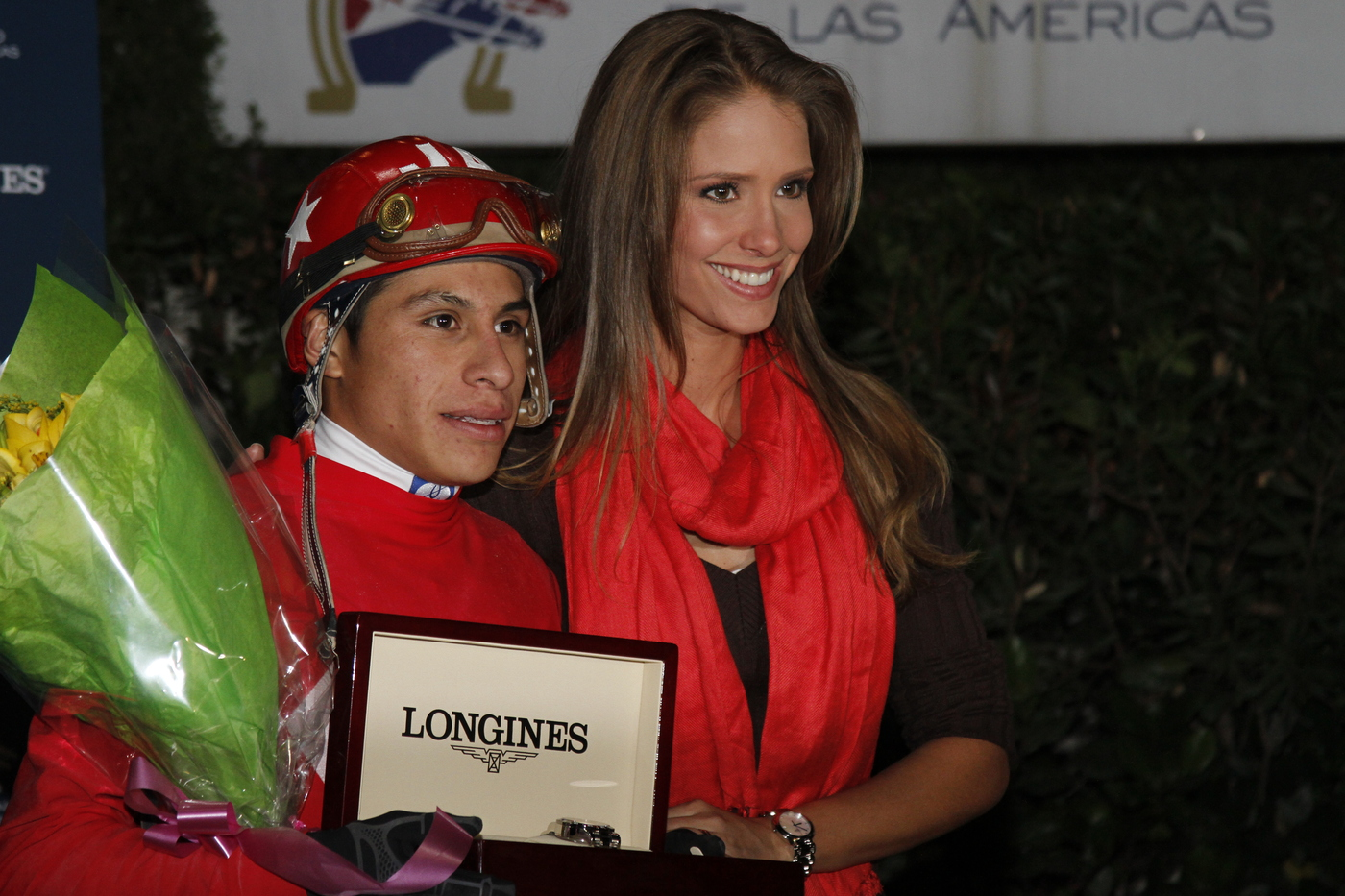 Longines Flat Racing Event: Jockey J.A. Ambrosio and Sarkozy win the Gran Premio Longines in Mexico 4