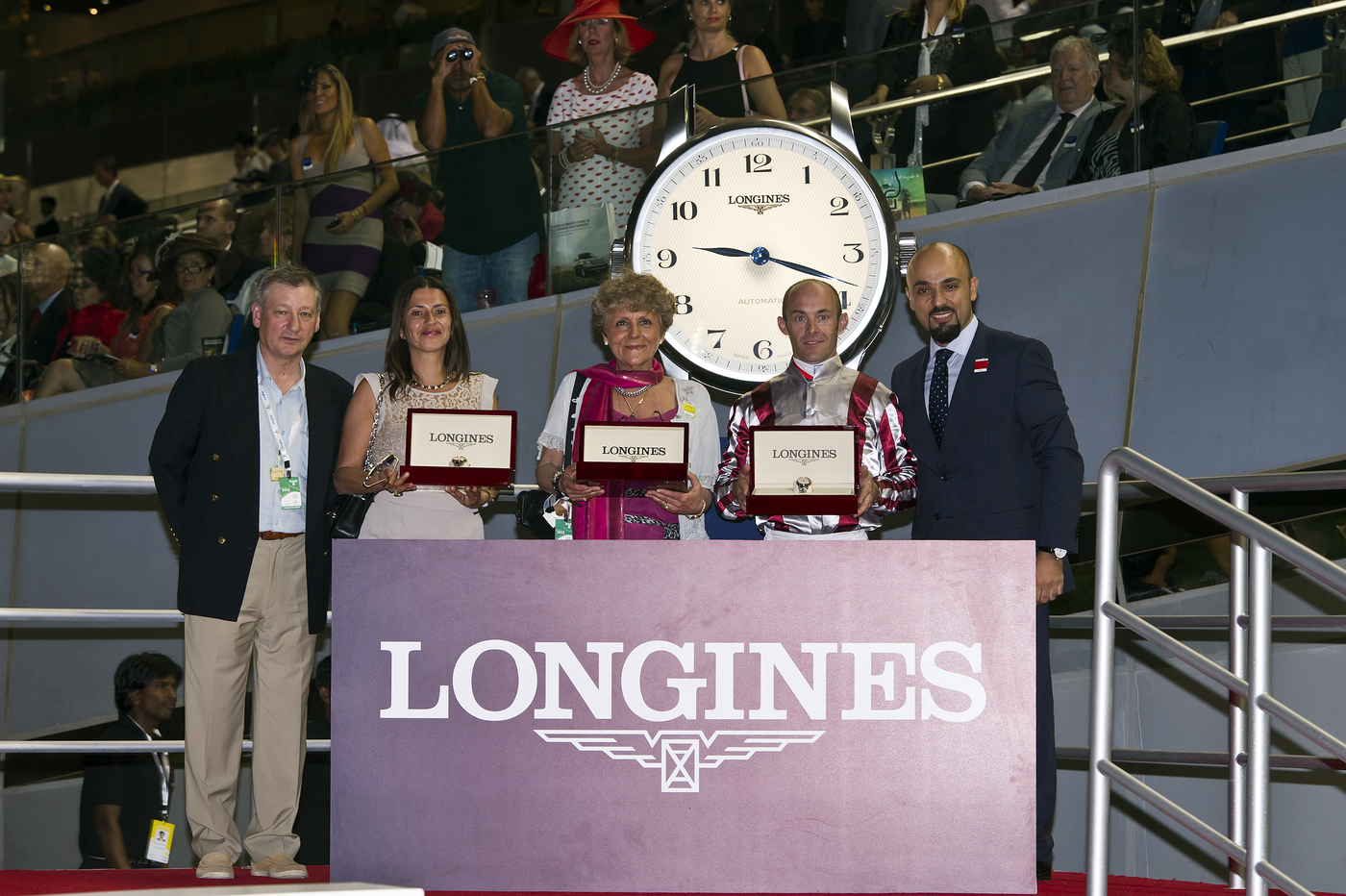 Longines Flat Racing Event: Longines, official timekeeper of the Dubai World Cup 2012: Elegance and performance at the World's Richest Race 2