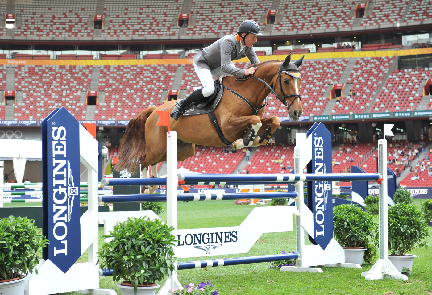 Longines Show Jumping Event: Enjoying the beauty of equestrian sport at the Longines Equestrian Beijing Masters 2