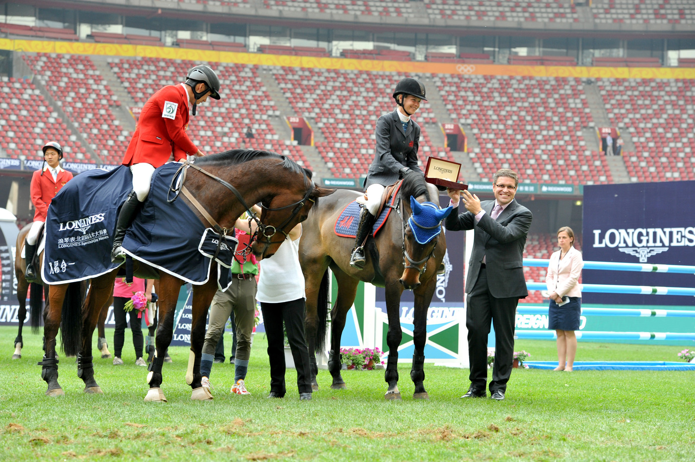 Longines Show Jumping Event: Enjoying the beauty of equestrian sport at the Longines Equestrian Beijing Masters 4