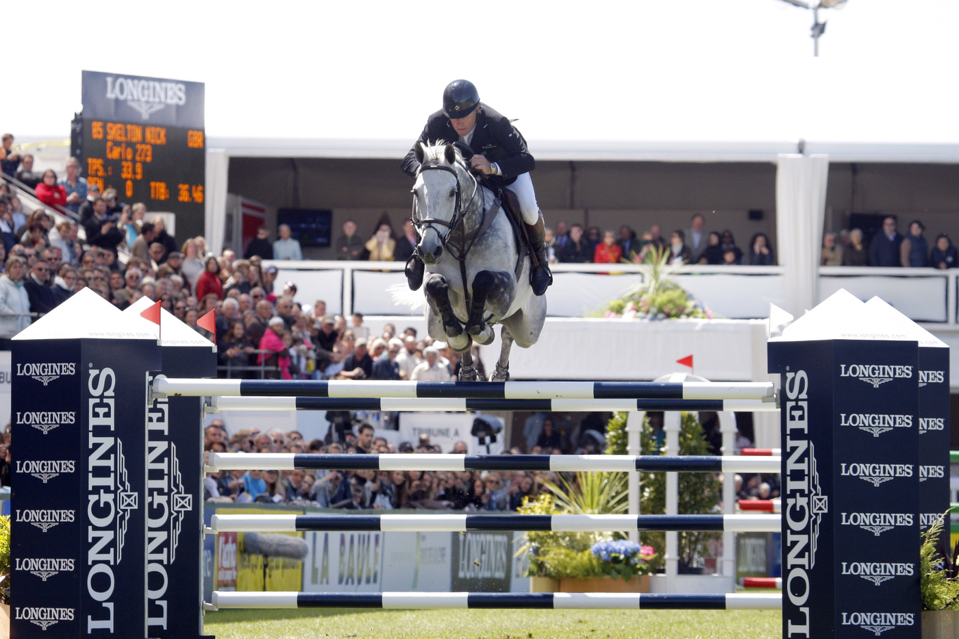 Longines Show Jumping Event: Nations Cup – Longines Press Award for Elegance: Intermediate ranking 1