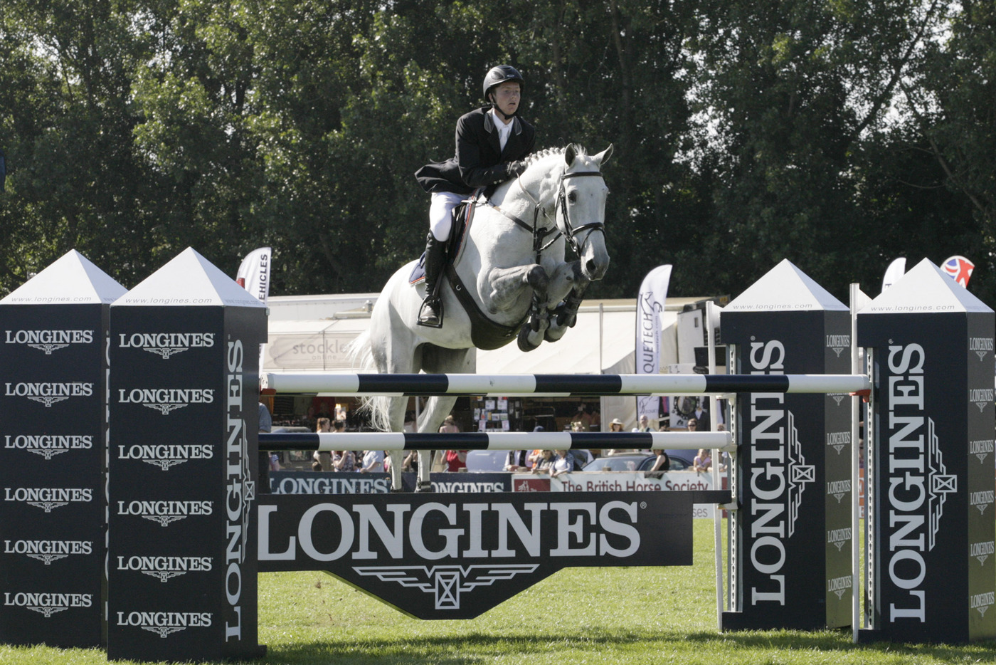 Longines Show Jumping Event: Nations Cup – Longines Press Award for Elegance: Intermediate ranking 7