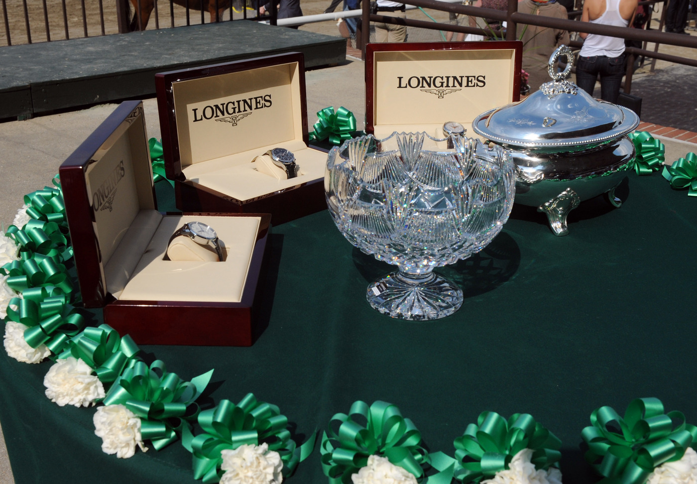 Longines Flat Racing Event: Longines, Official Watch of the 2012 Belmont Stakes 2