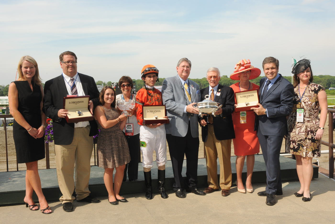 Longines Flat Racing Event: Longines, Official Watch of the 2012 Belmont Stakes 3