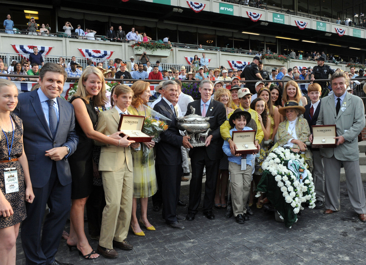 Longines Flat Racing Event: Longines, Official Watch of the 2012 Belmont Stakes 5