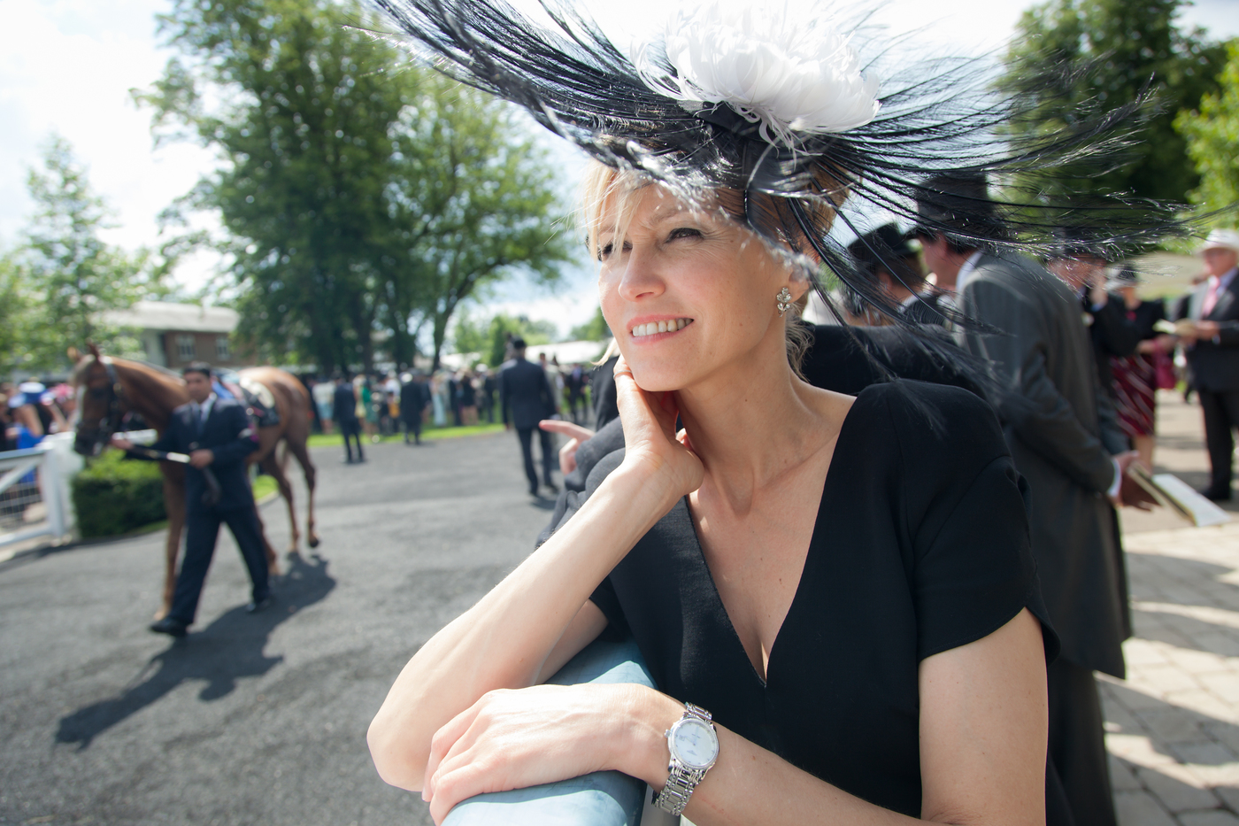 Longines Flat Racing Event: Royal Ascot 2012 - An elegant day at the races with Longines Ambassador of Elegance Ingeborga Dapkunaite 5
