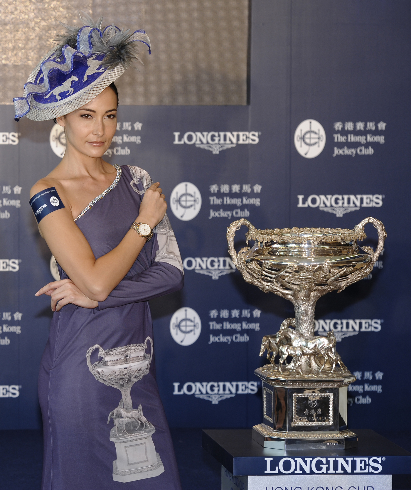 "Longines Flat Racing Event: Longines and The Hong Kong Jockey Club announce their partnership for the ""Longines Hong Kong International Races"" 7"