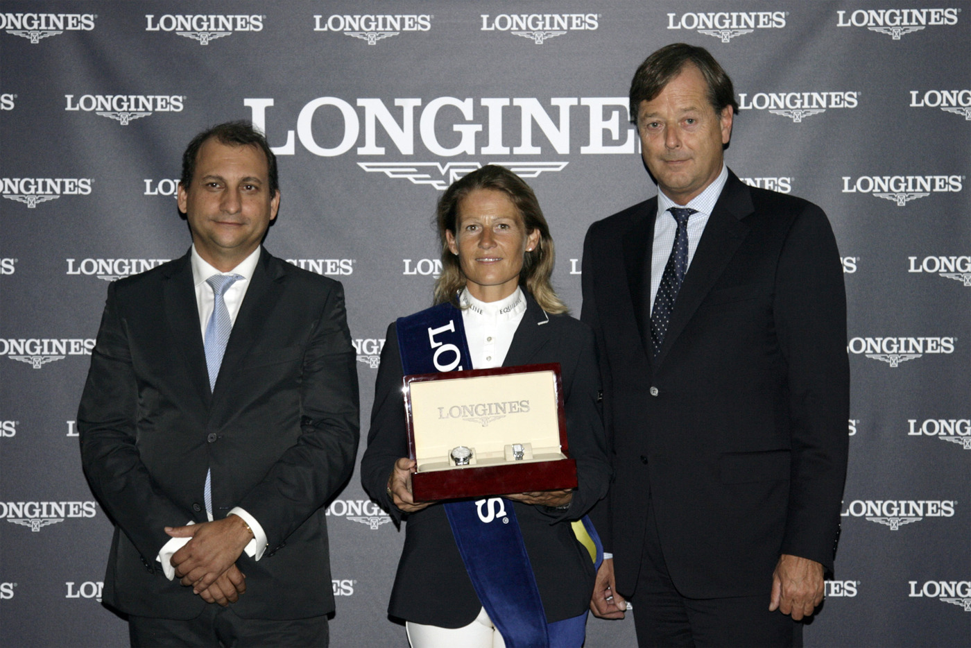 Longines Show Jumping Event: Eugenie Angot wins the Longines Queen's Cup of the CSIO Barcelona 2012 2