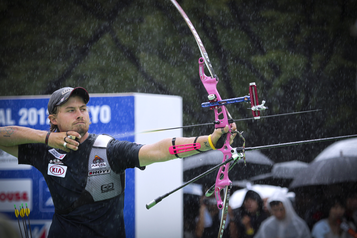 Longines Archery Event: The winners of the 2012 Longines Prize for Precision for archery 3