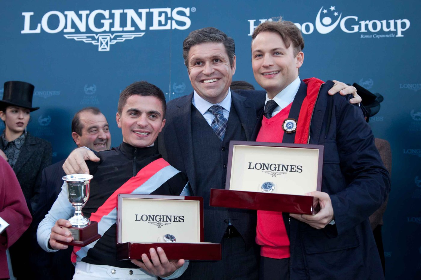 Longines Flat Racing Event: Andrea Atzeni wins the Grand Prix Longines Lydia Tesio on Sortilege 3