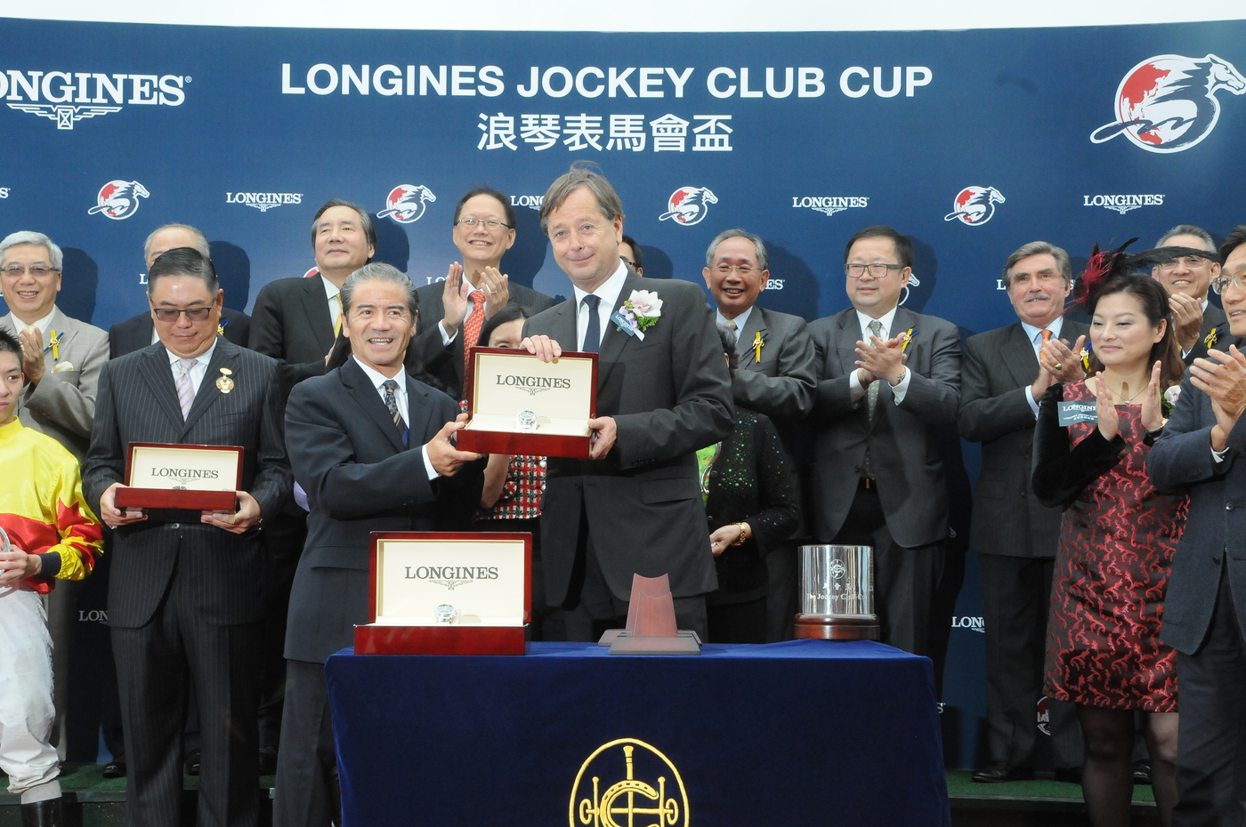 Longines Flat Racing Event: The first ever Longines Jockey Club Cup showcased Longines' passion for equestrian sports 2