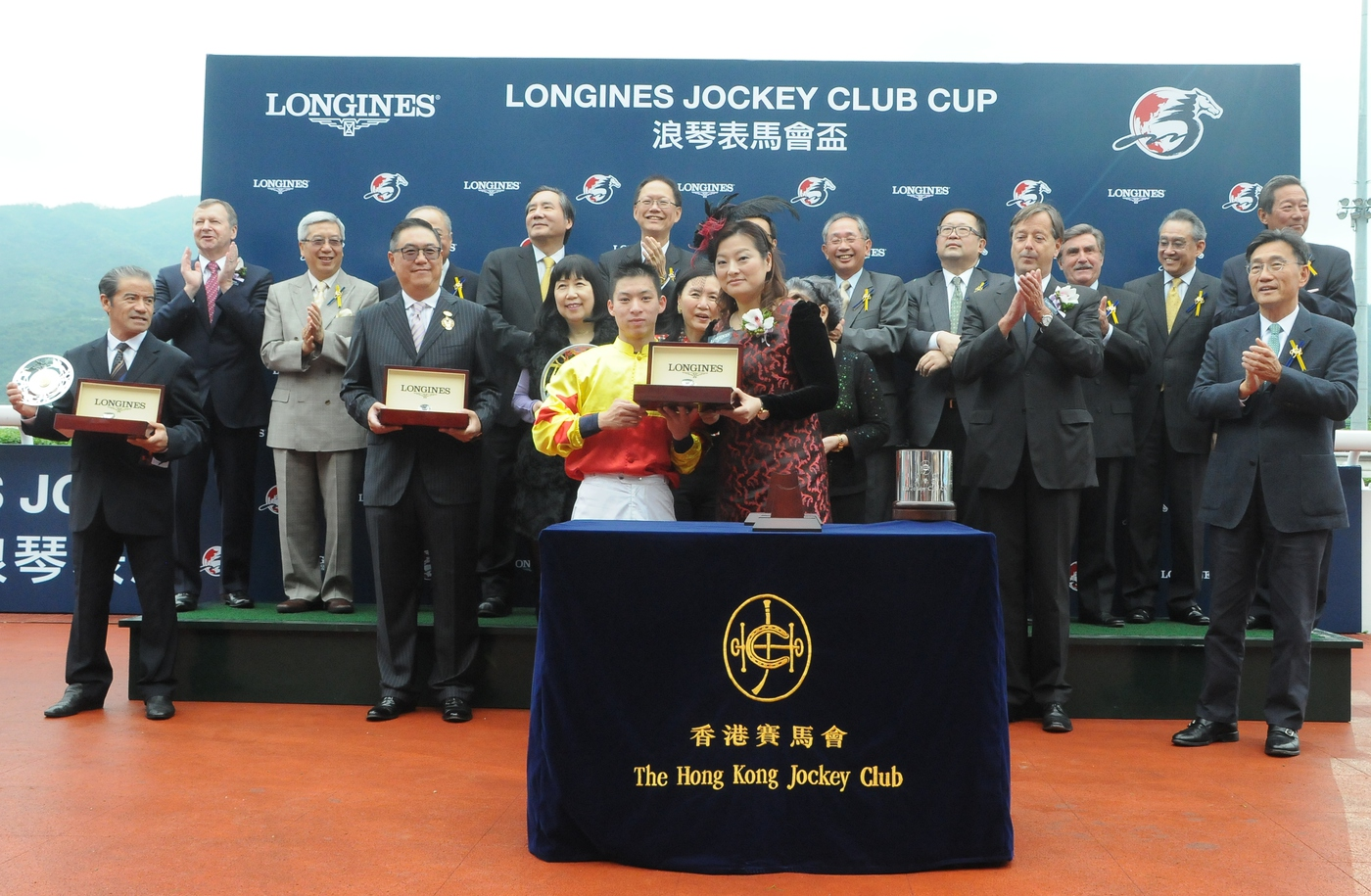 Longines Flat Racing Event: The first ever Longines Jockey Club Cup showcased Longines' passion for equestrian sports 3