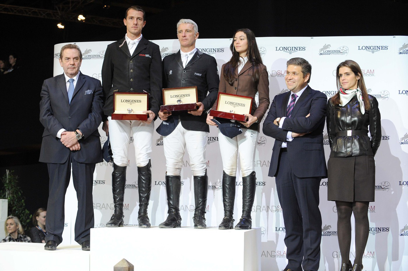 Longines Show Jumping Event: Roger Yves Bost wins the Longines Speed Challenge 4
