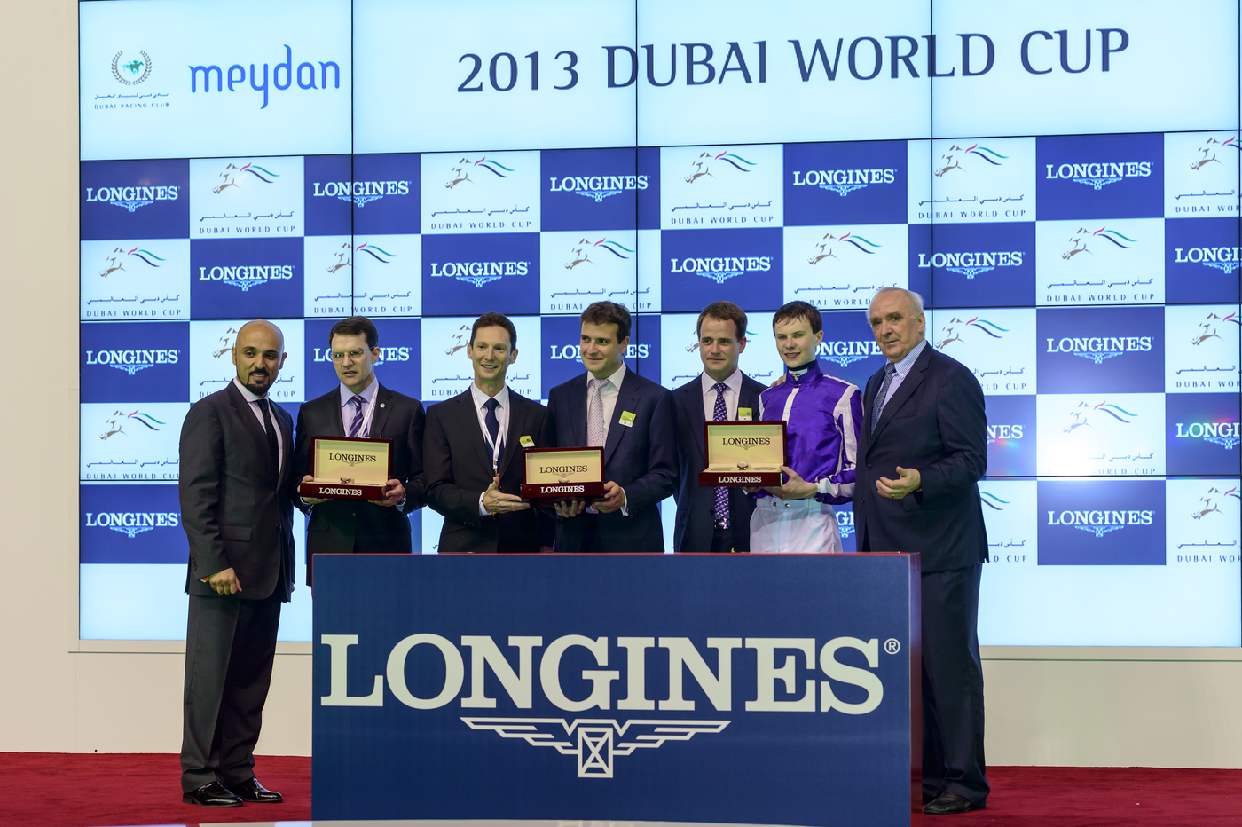 Longines Flat Racing Event: Longines adds its touch of elegance to the Dubai World Cup 3