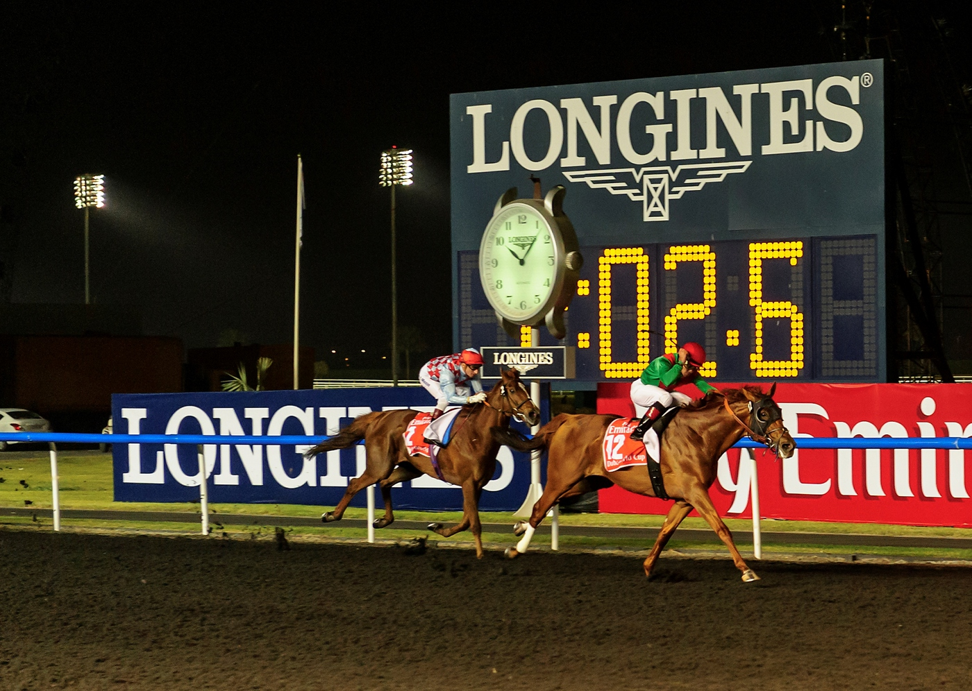 Longines Flat Racing Event: Longines adds its touch of elegance to the Dubai World Cup 4