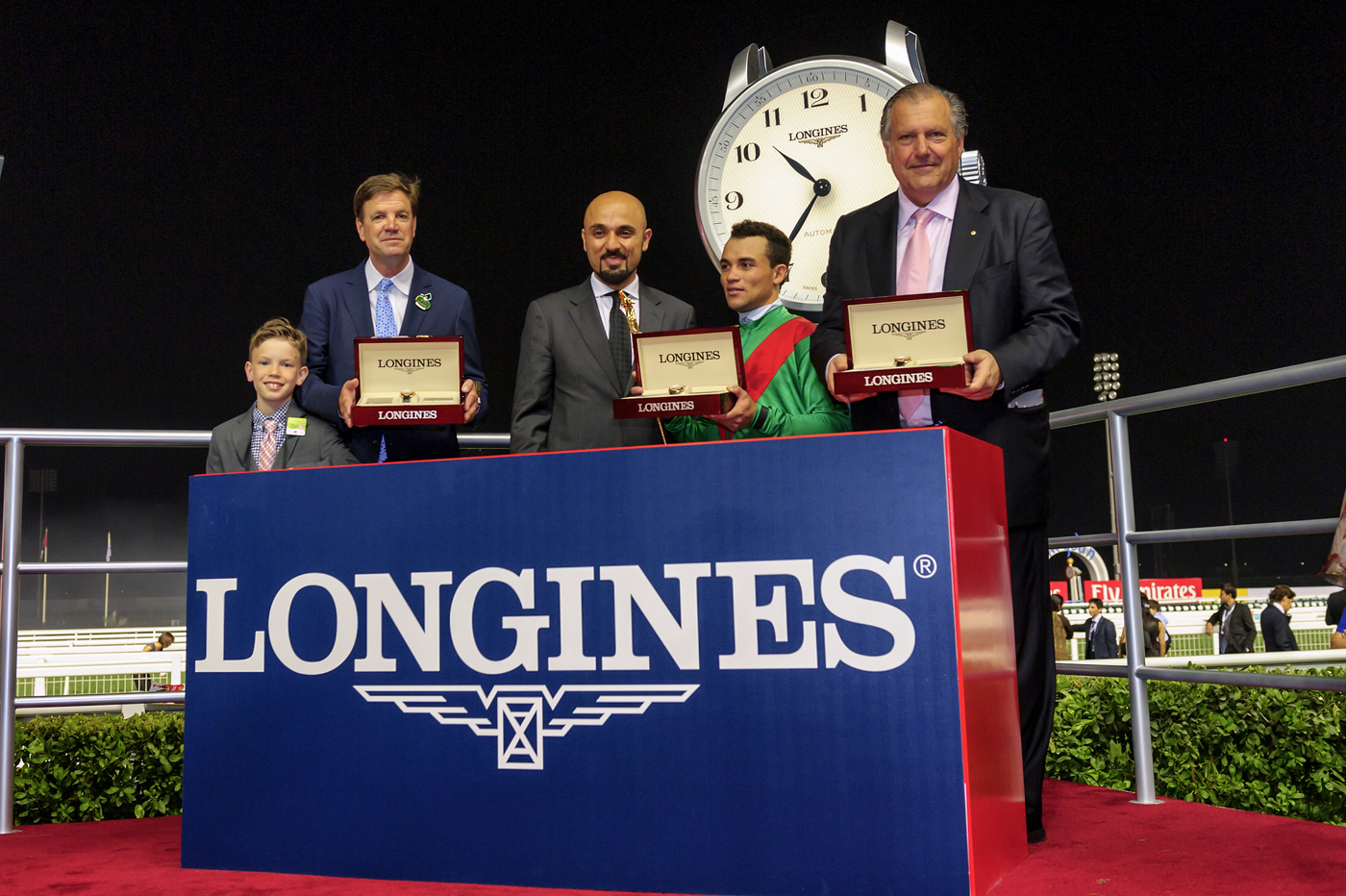 Longines Flat Racing Event: Longines adds its touch of elegance to the Dubai World Cup 5