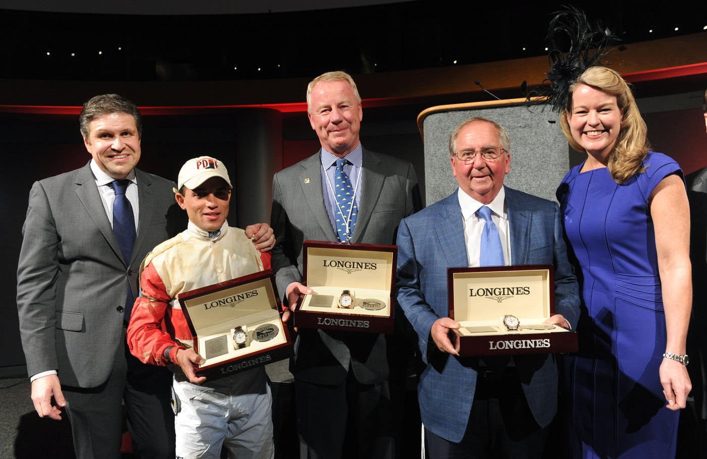 Longines Flat Racing Event: Longines awards timepieces to the winners of the Kentucky Derby 2
