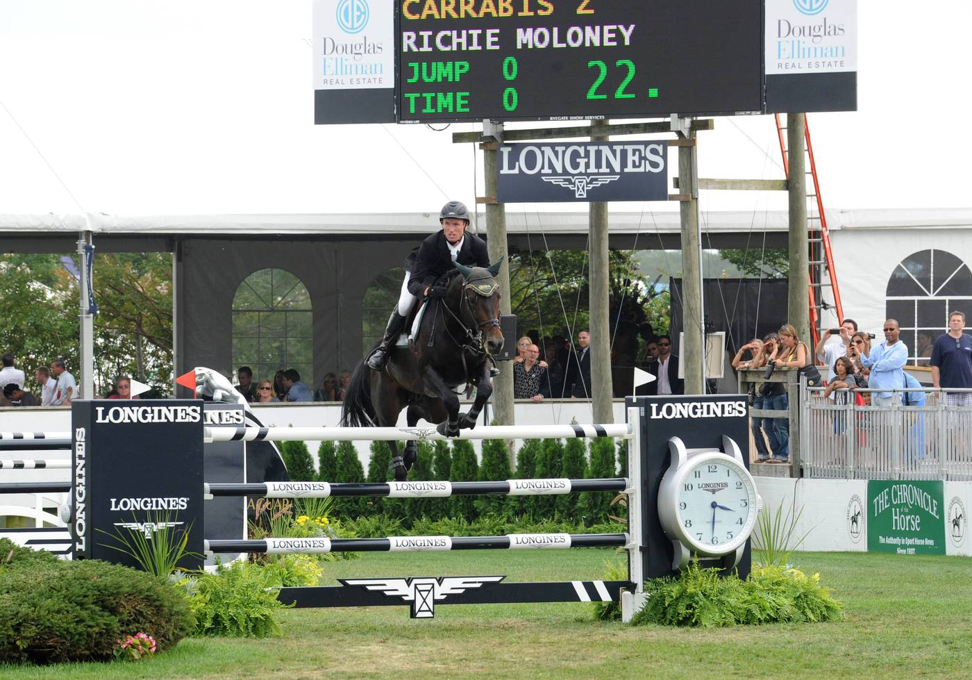 Longines Show Jumping Event: Longines expands commitment to equestrian sports through Hampton Classic Horse Show partnership 2