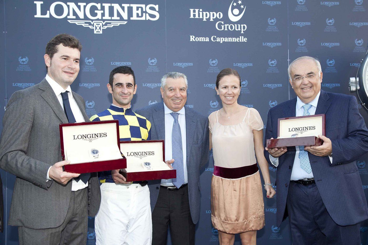 Longines Flat Racing Event: Fabio Branca wins the Premio Longines Lydia Tesio on Charity Line 4