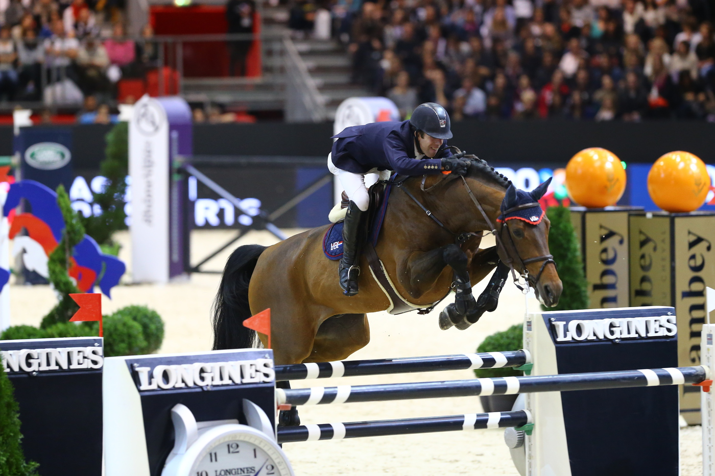 Longines Show Jumping Event: Longines  – Official Timekeeper of Equita'Lyon 2
