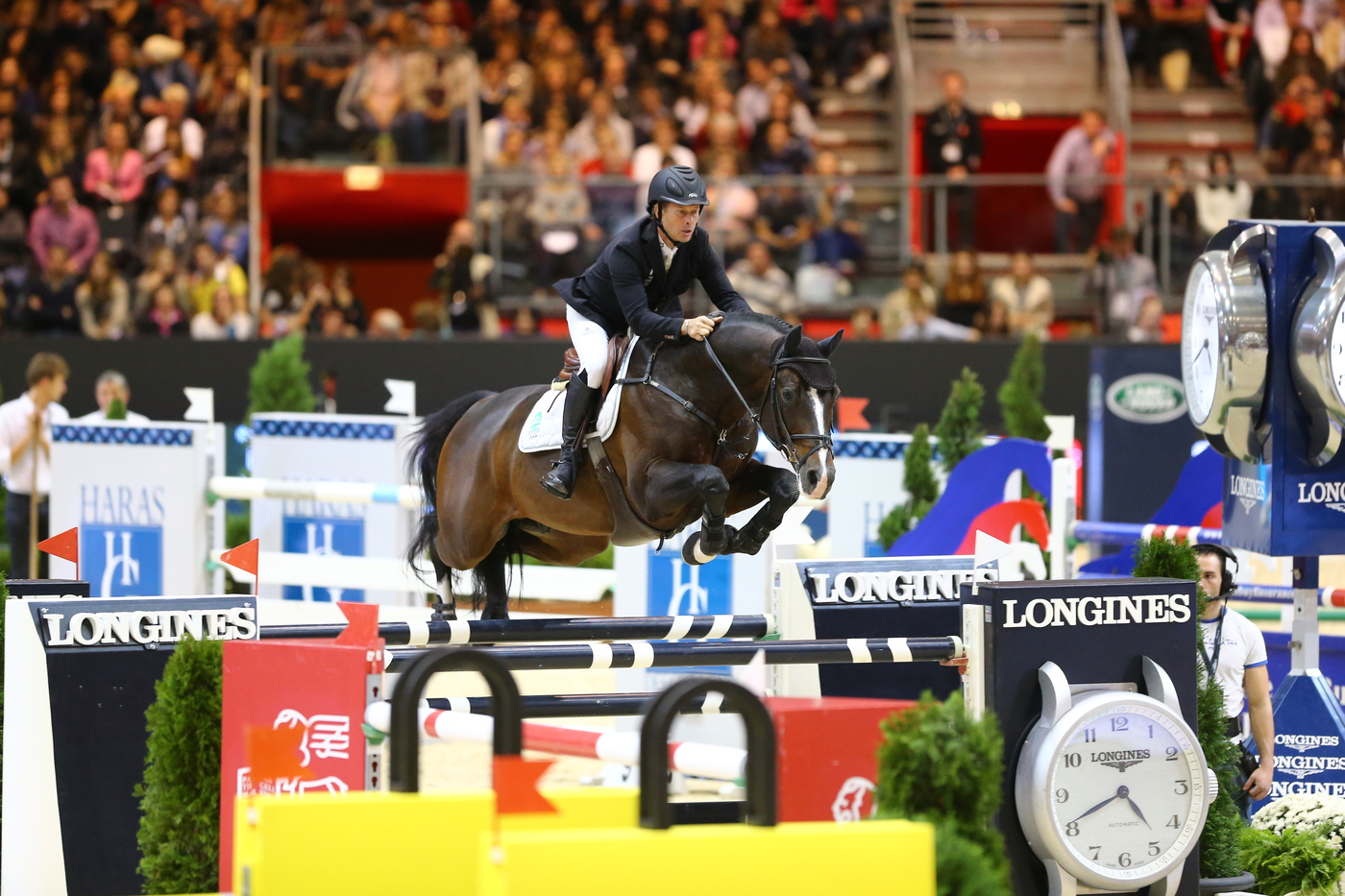 Longines Show Jumping Event: Longines  – Official Timekeeper of Equita'Lyon 3
