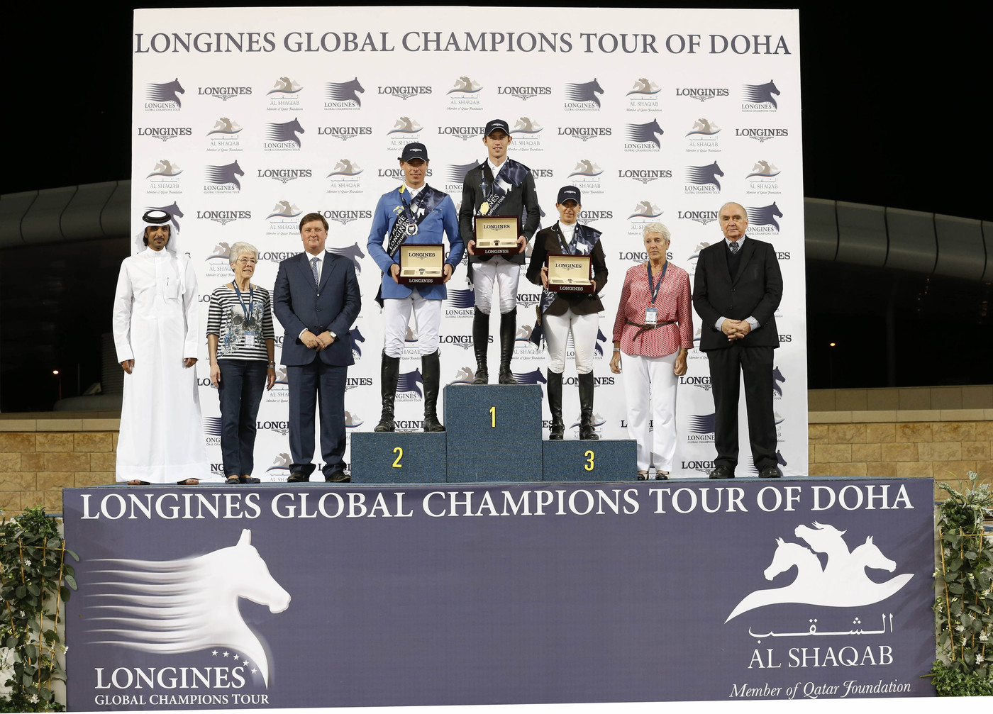 Longines Show Jumping Event: The Longines Global Champions Tour 2013 – A thrilling finale in Doha 4