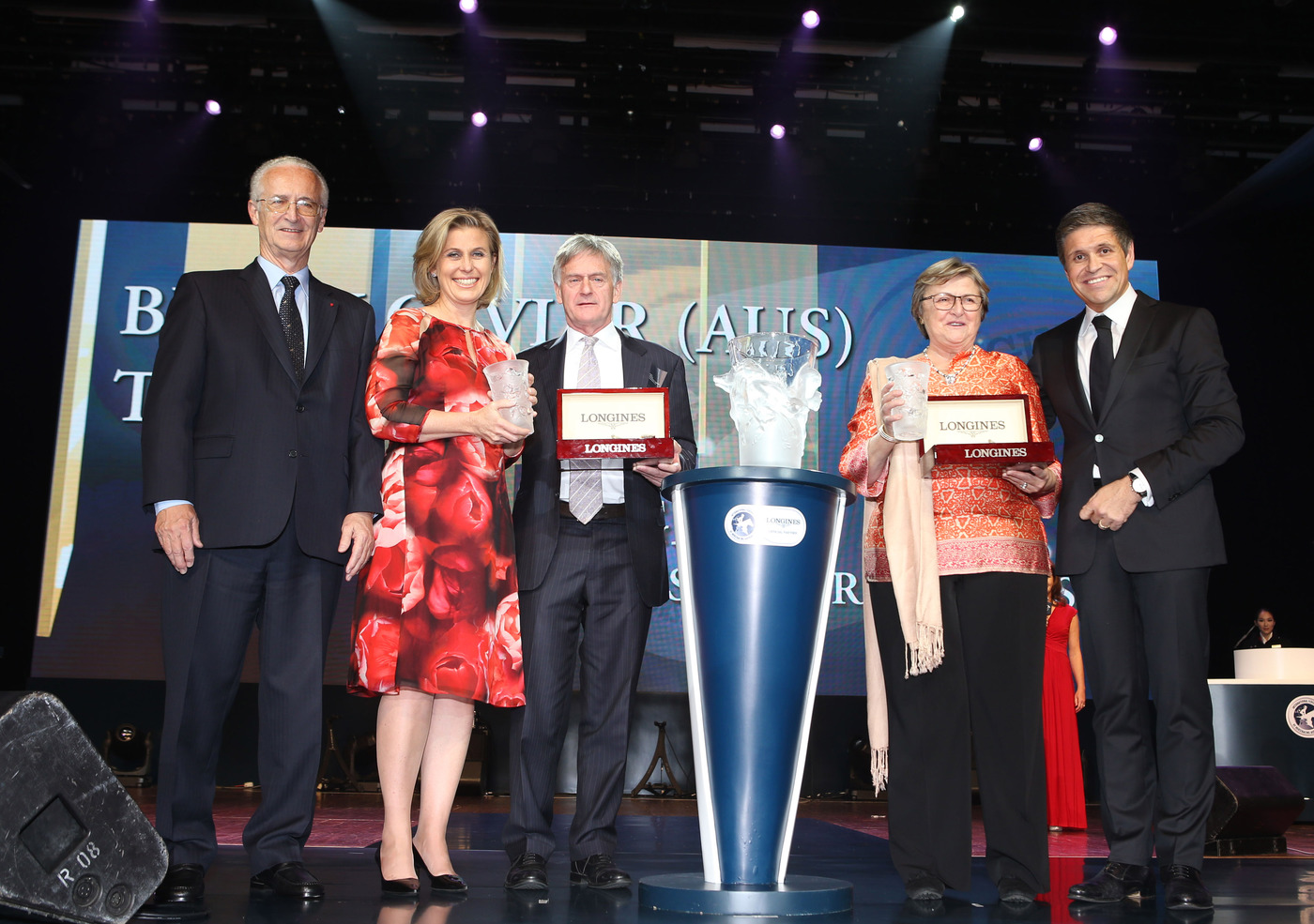 Longines Flat Racing Event: Longines and the IFHA award the 2013 Longines World's Best Racehorse title 5