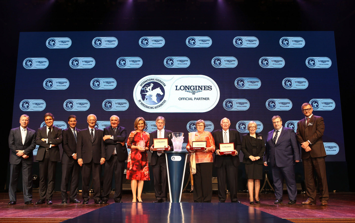 Longines Flat Racing Event: Longines and the IFHA award the 2013 Longines World's Best Racehorse title 7